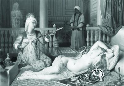 Odalisque and Slave, 1839