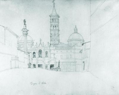 View of Santa Maria Maggiore, Ca. 1813-14