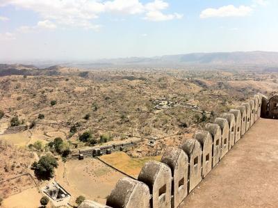 Kumbalargh View Inside the Walls