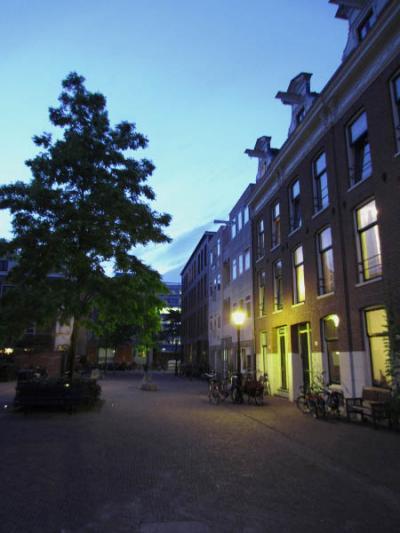midsummer streetlight