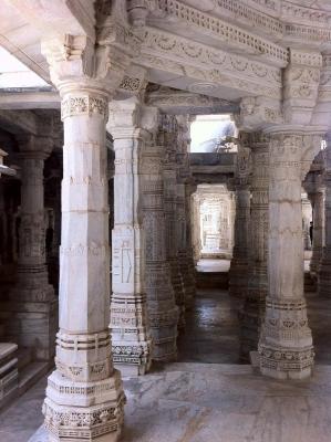 Ranakpur Hall of Pillars