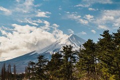 Mt. Fuji and landscape