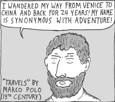 Marco polo comic