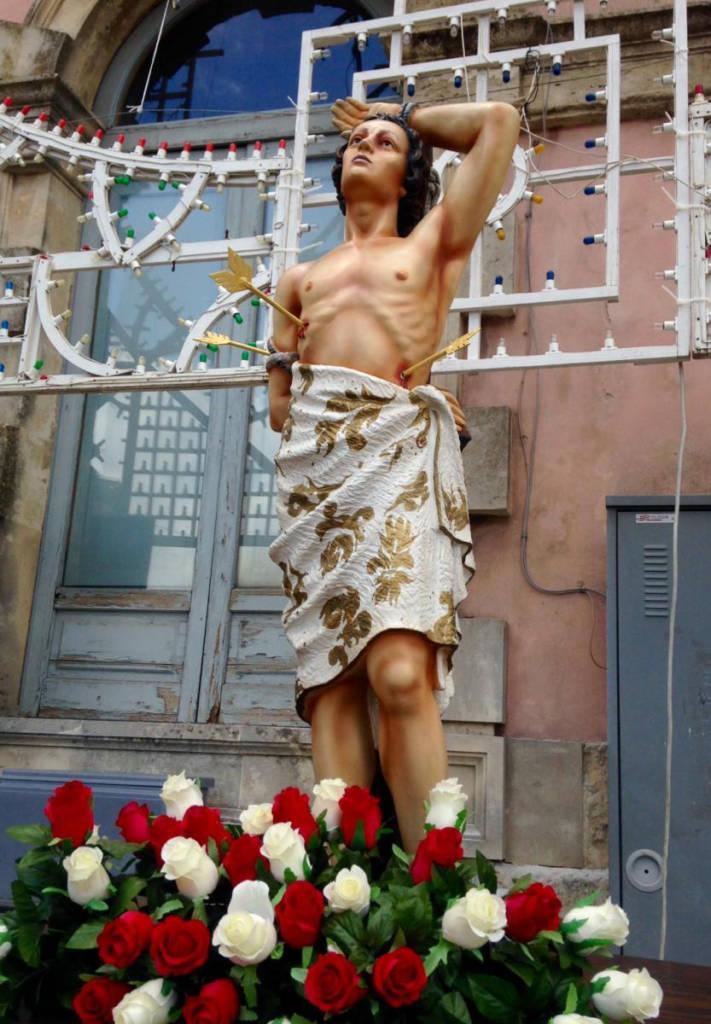Saint Sebastian Statue