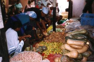 A market in Cape Verde