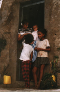 A family in Cape Verde