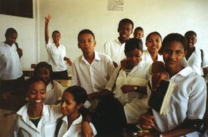 Schoolchildren in Cape Verde