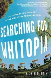 """""""Searching For Whitopia"""" Book cover"""