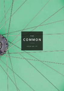 cover of Issue 7, showing the spokes of a bicycle wheel on a green background