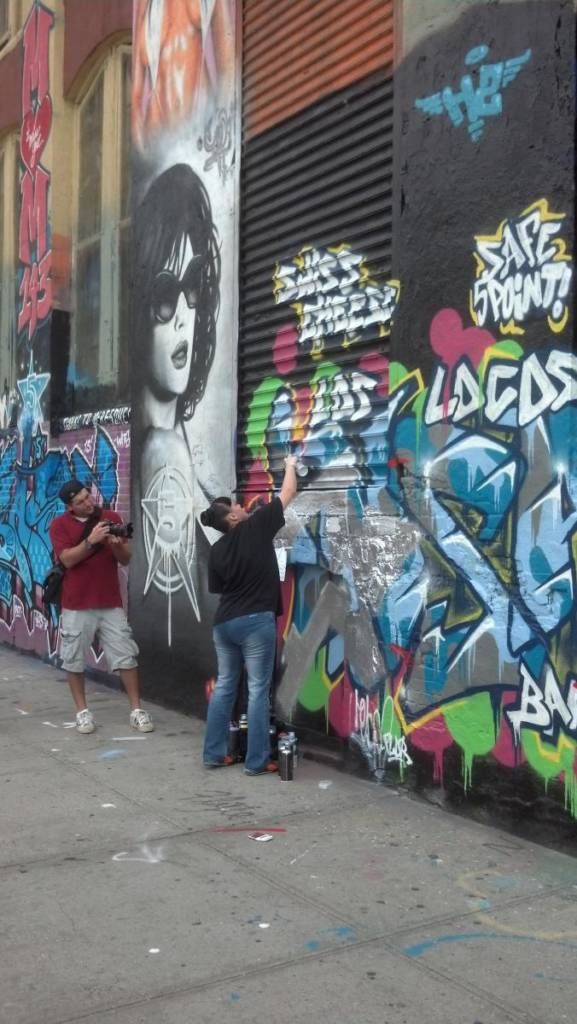 5 Pointz work in progress