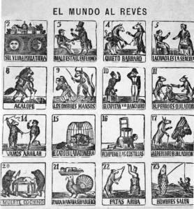 """""""El Mundo Al Reves"""" cards"""