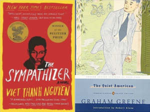 The Sympathizer and The Quiet American book covers