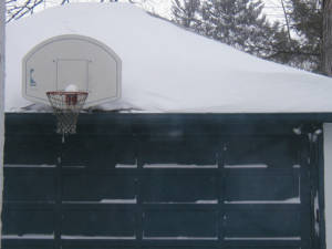 Basketball hoop in Providence