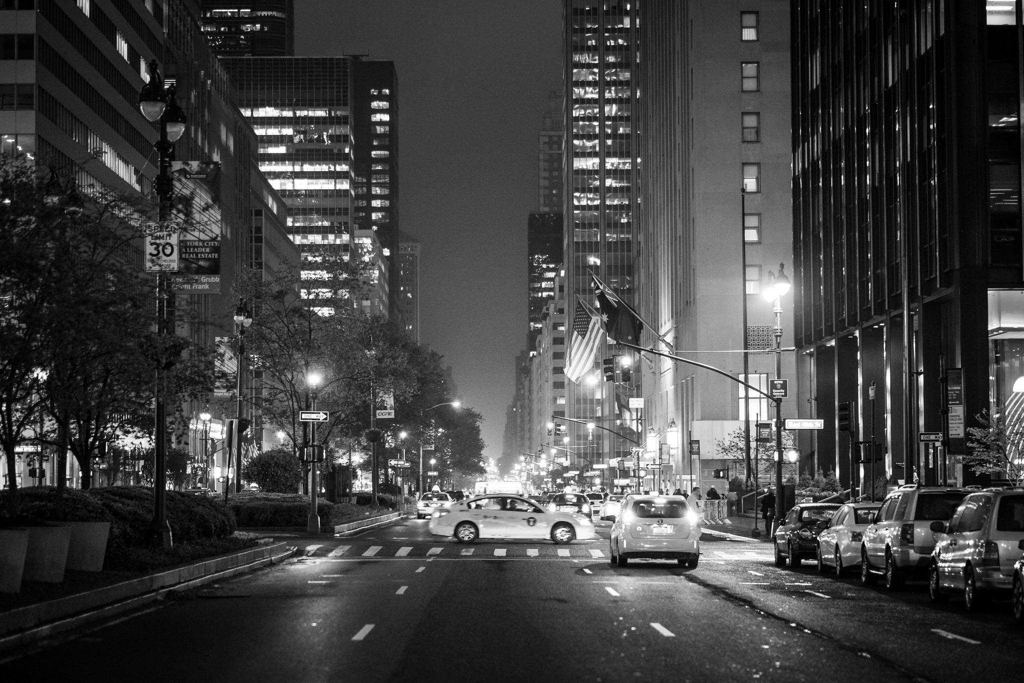 New York city streets
