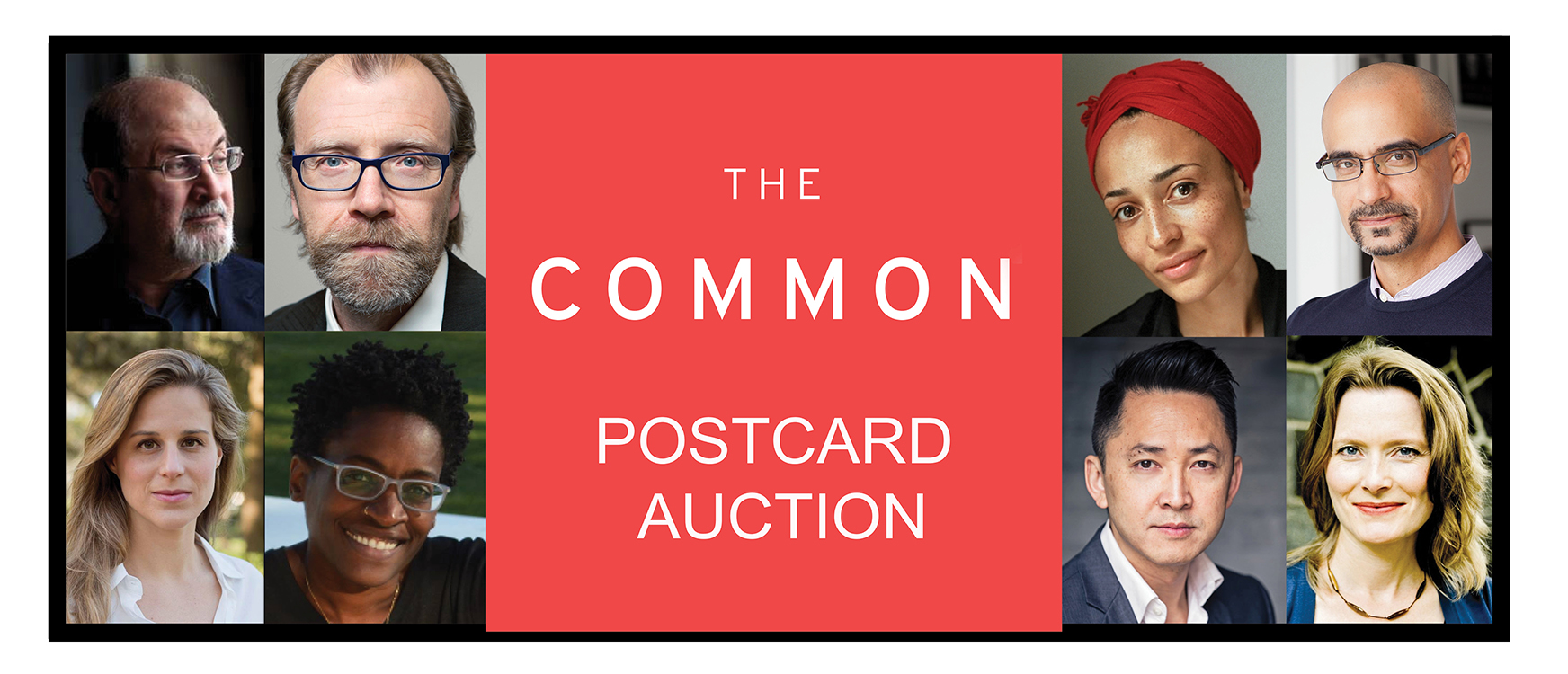 Author Postcard Auction 2017