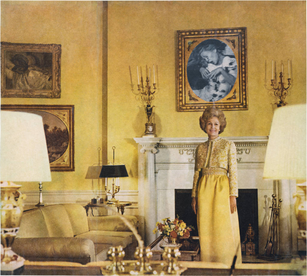 First Lady, from House Beautiful: Bringing the War Home 1967-72.