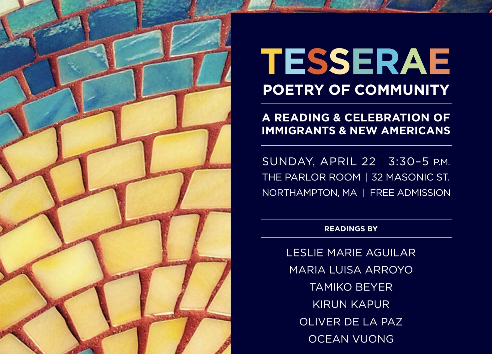 Tesserae Poetry Feature: Part One