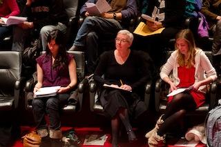 Irina Troconis, Catherine Ciepiela and Max Kaisler