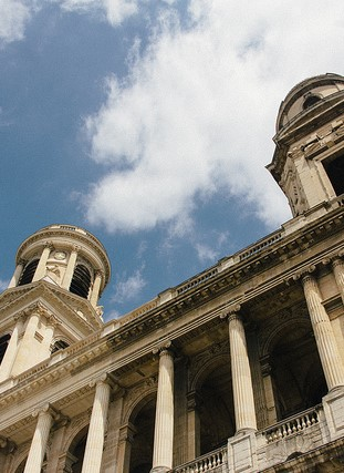 The towers of Church Saint-Sulpice.