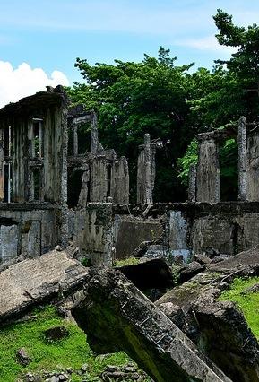 Corregidor Island ruins