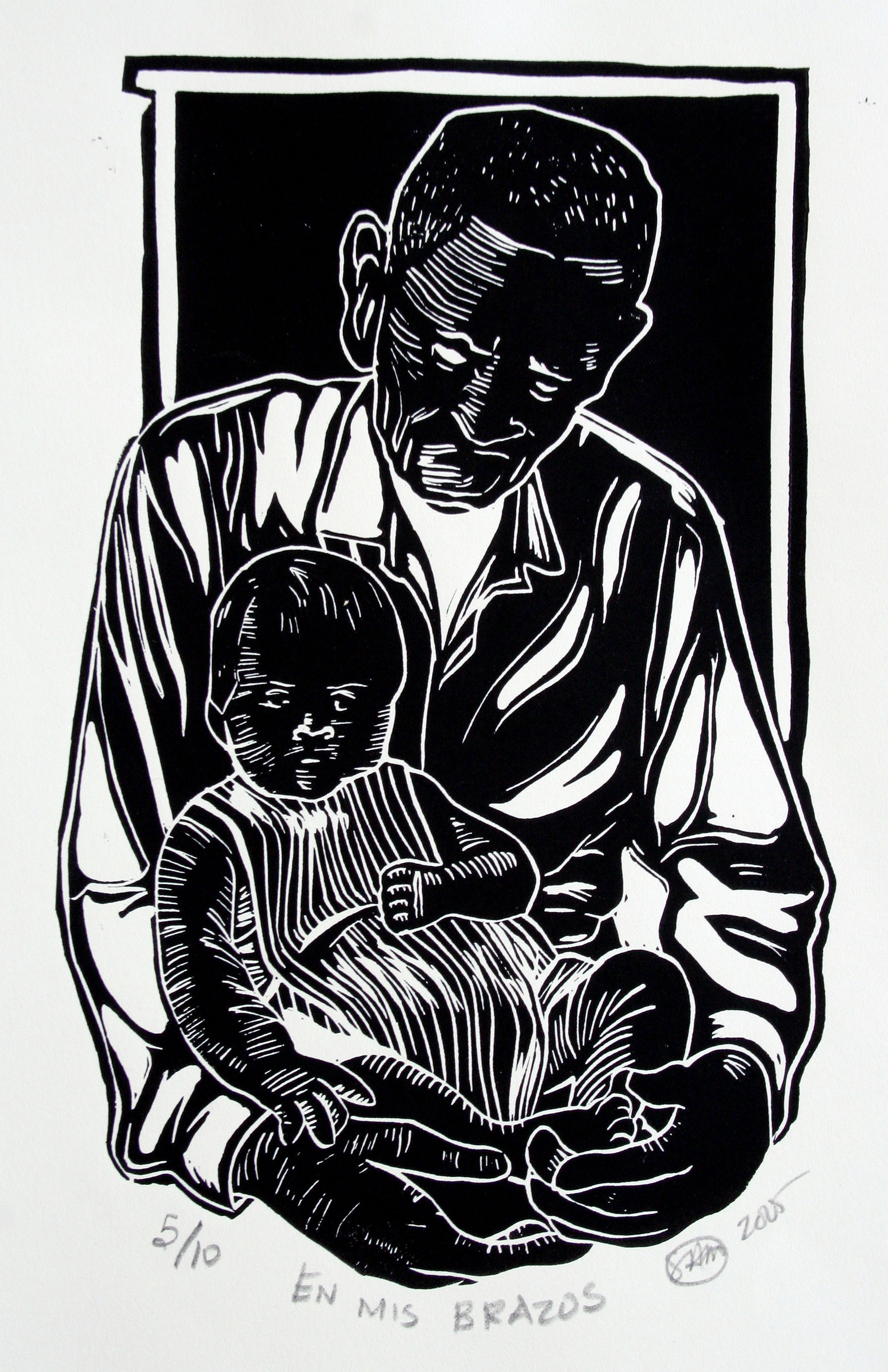 Woodcuts by Samuel Miranda