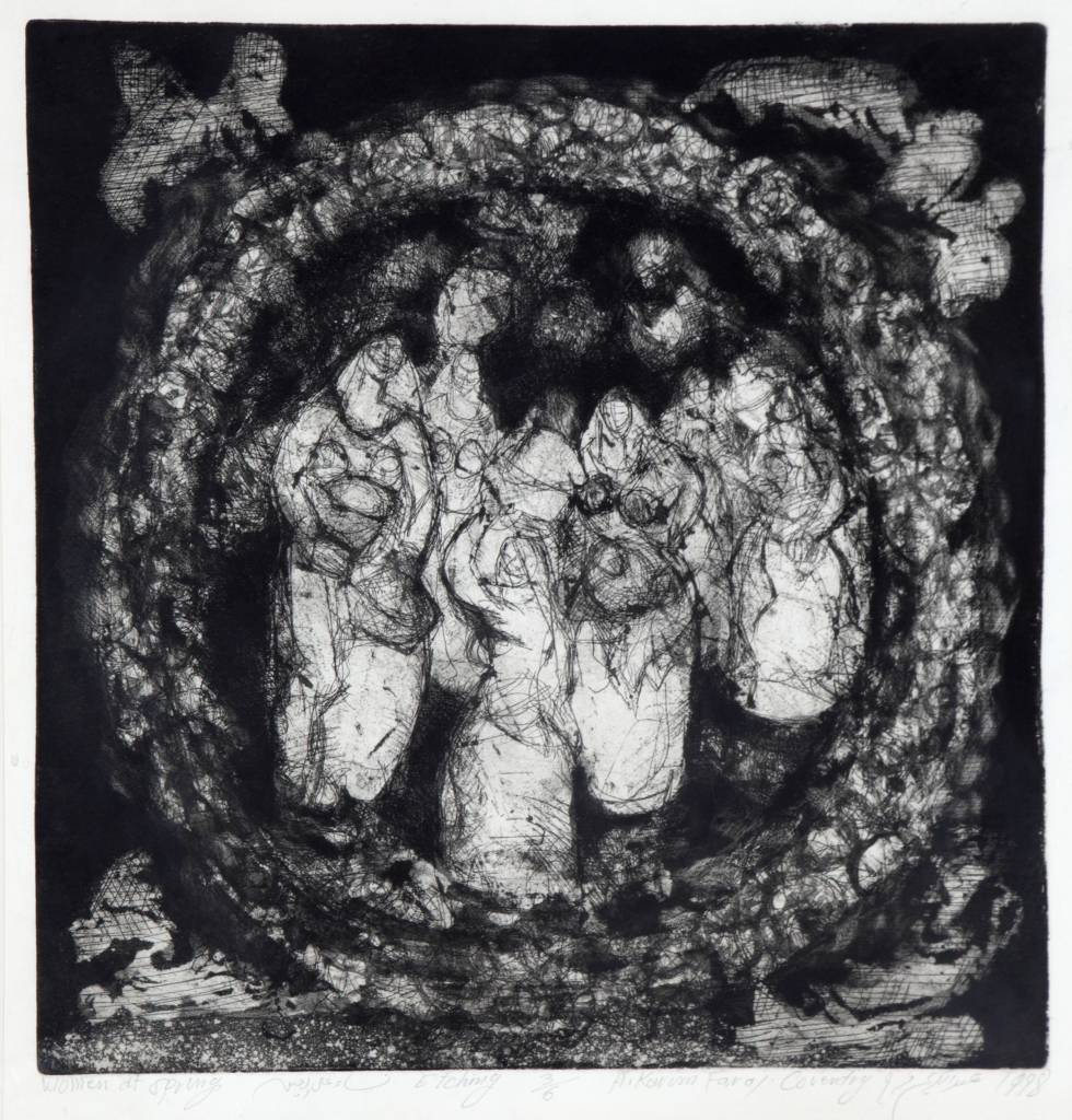 figures gathered in a circle