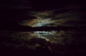 image of dark sky