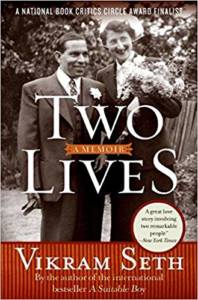 Cover of Two Lives: A Memoir