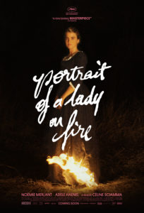 Movie poster of woman on fire