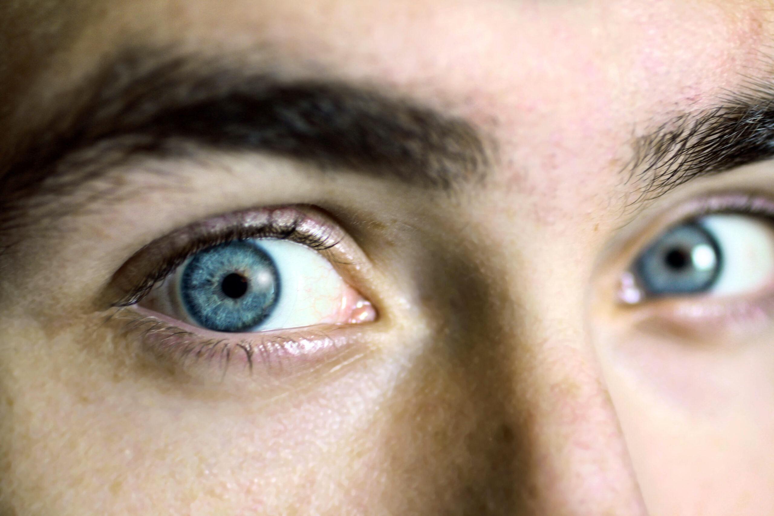 Image of eyes up close.