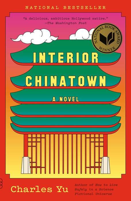 Image of Charles Yu's book, Interior Chinatown.
