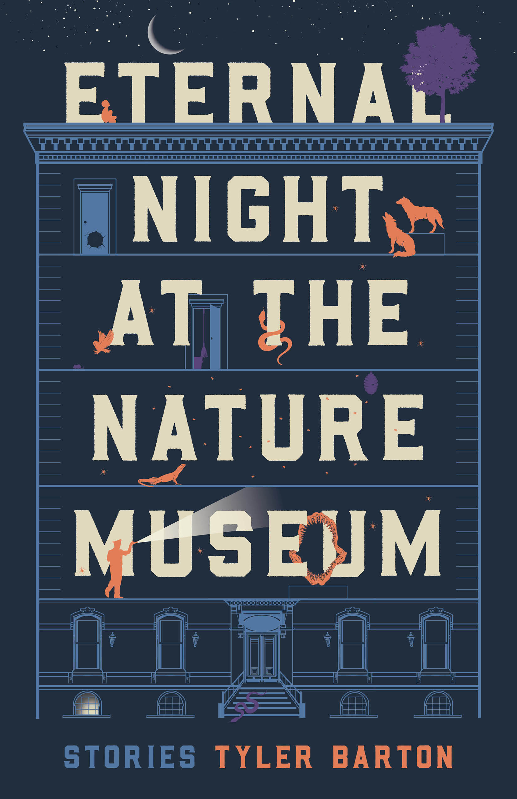 Cover of Eternal Night at the Nature Museum by Tyler Barton