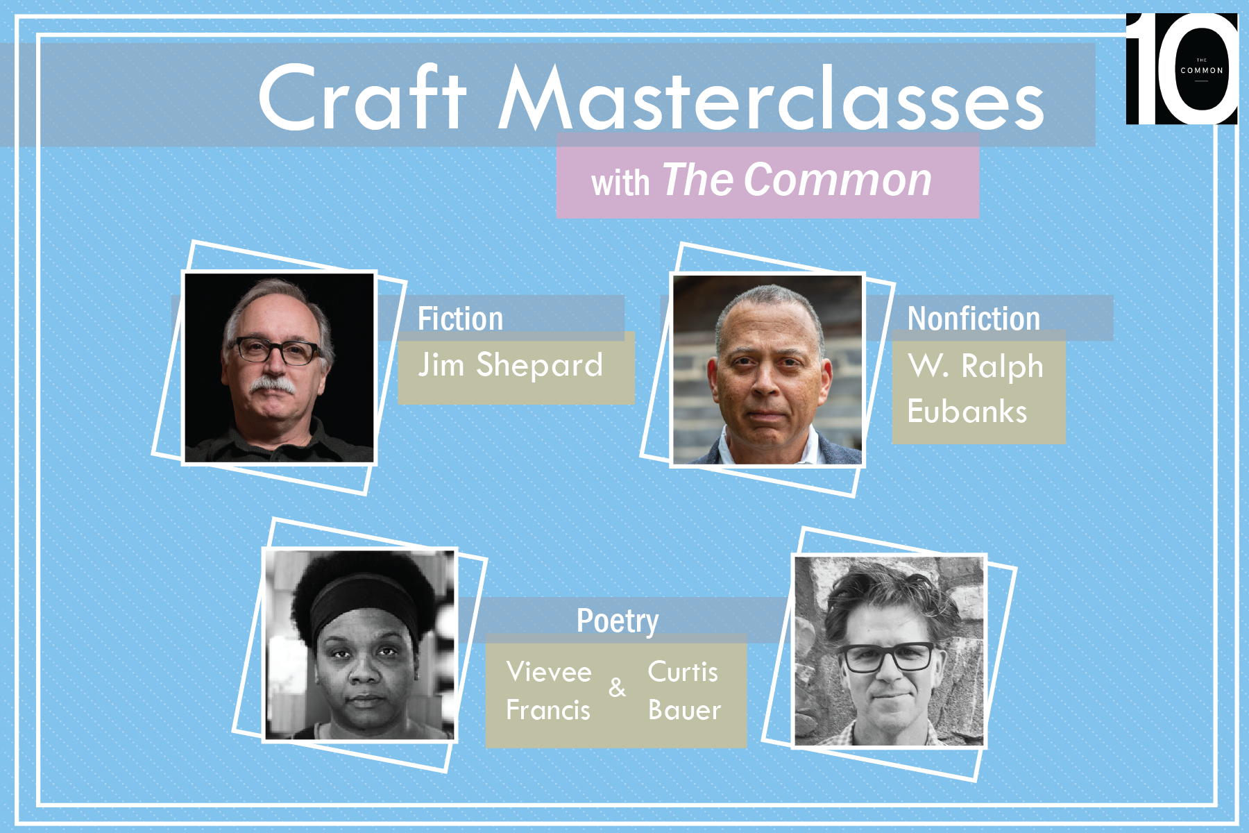 Unique Craft Masterclasses with The Common