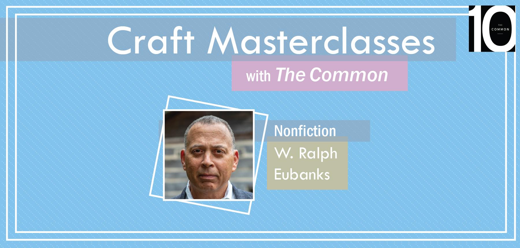Unique Craft Masterclasses with The Common