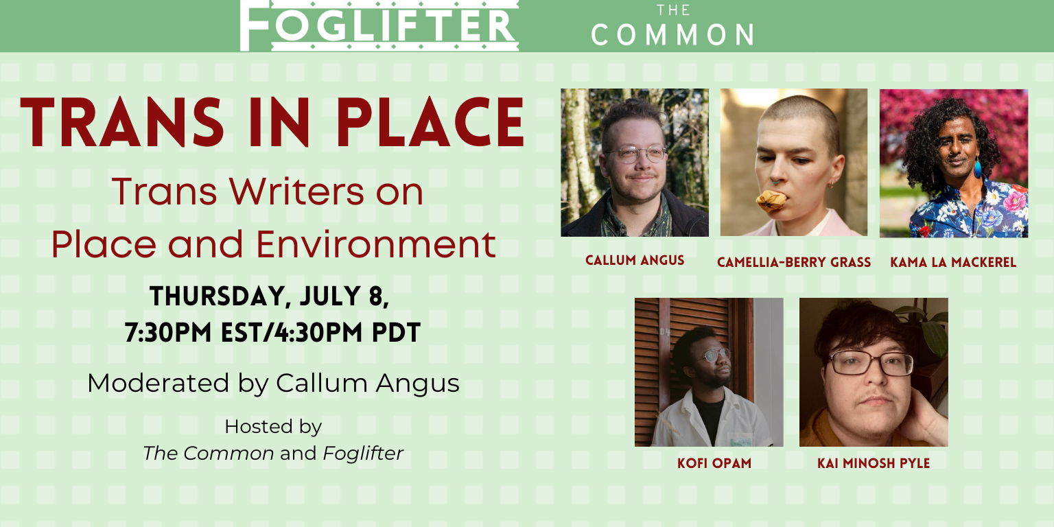 Trans in Place: Trans Writers on Place and Environment