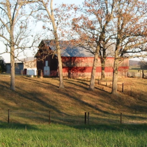Image of barn in the autumn.