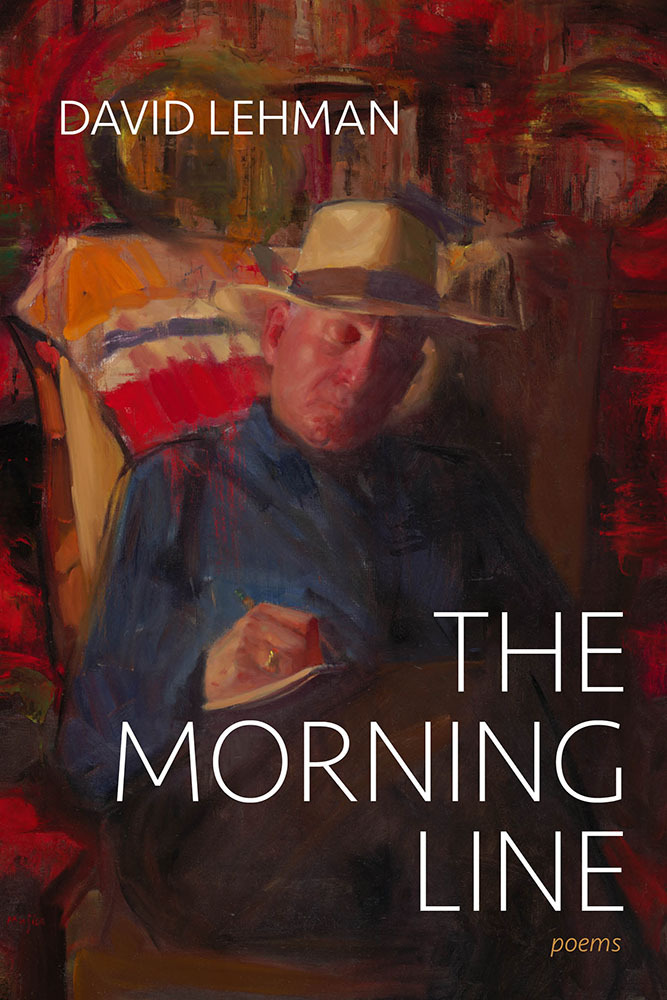 Image of the book cover of The Morning Line, featuring a man wearing a hat.