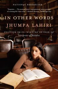 Image of Jhumpa Lahiri's In Other Words