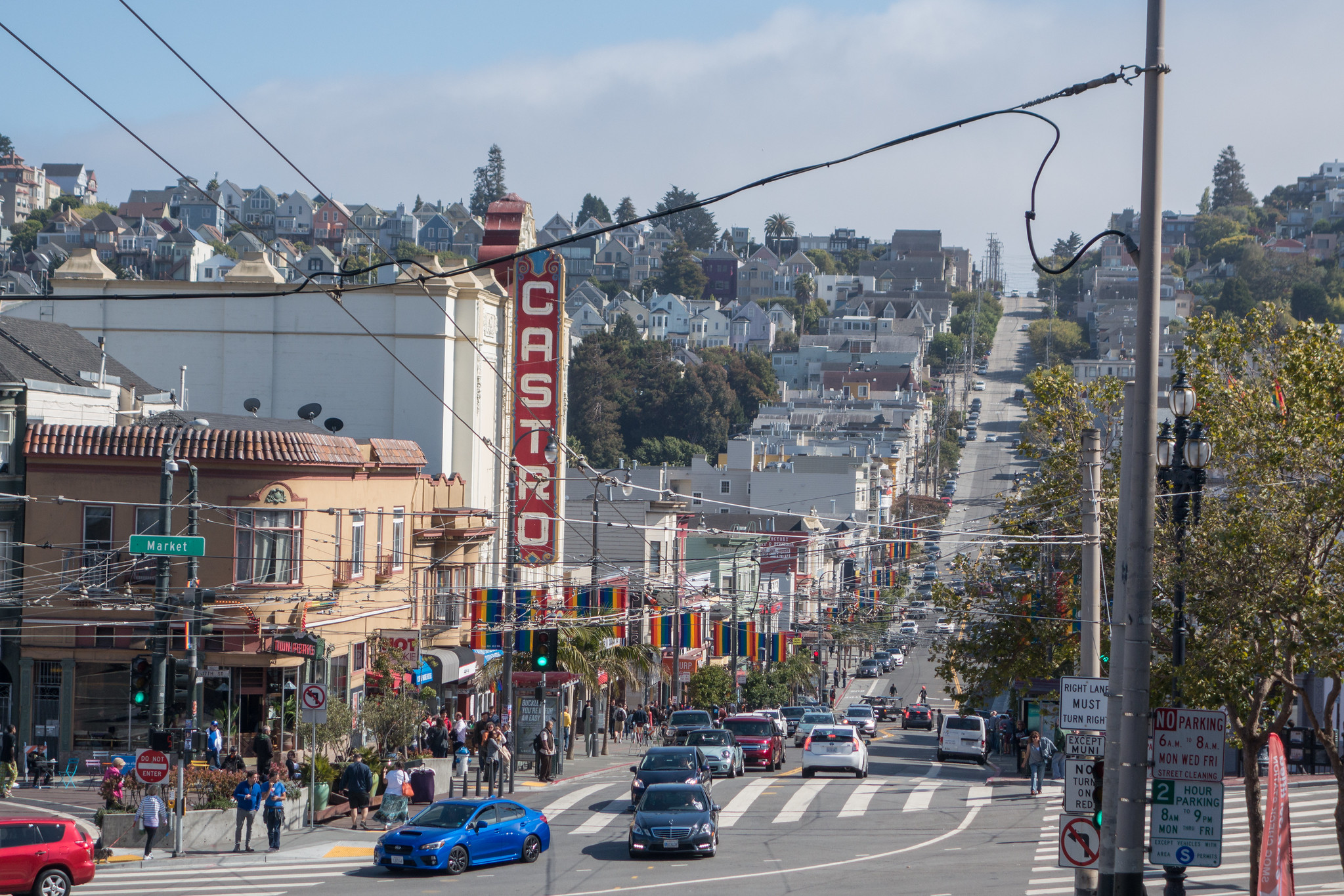 An image of Castro Street in San Francisco